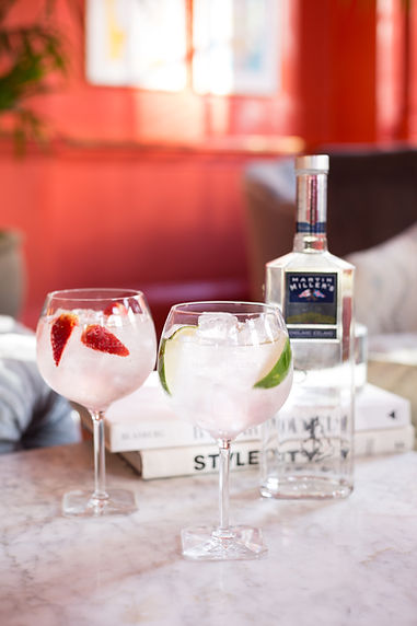 Martin Miller's Gin at Bloomsbury Hotel, Content Creation