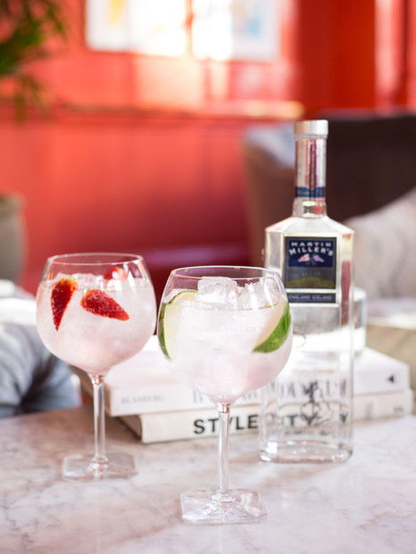 Martin Miller's Gin Bloomsbury Hotel Shoot