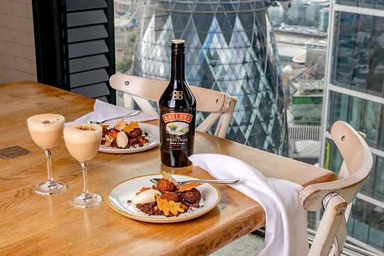 Baileys at Duck and Waffle, Content Creation