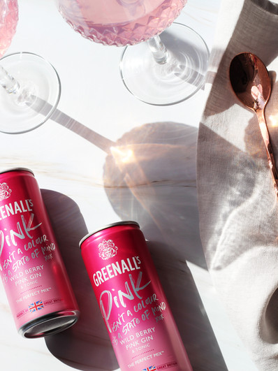 Greenalls Pink Gin Content