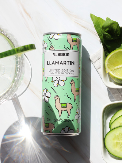 Lamatini Cocktail RTD Content Creation