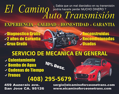 car overheat water pumps timing belts brakes transmission repair replacmeent