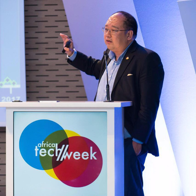Speaking at the Africa Tech Week