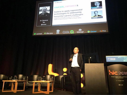 Speaking at the Health Informatics Conference (HIC) 2015