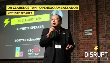 Keynote speaker at DisruptHRCPT 2017