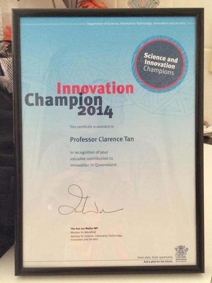 Science & Innovation Champion 2014