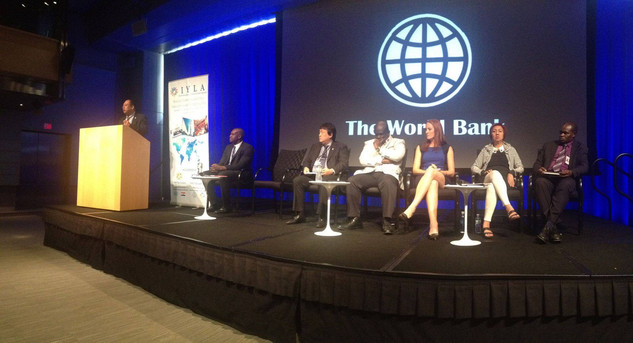 Speaking at the International Young Leaders Assembly at the World Bank