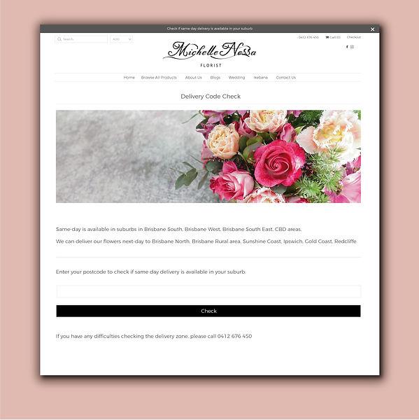 Michelle Nessa Florist Delivery Code Che