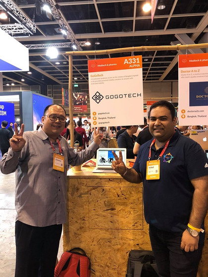 Presenting GoGoTech at RISE 2018