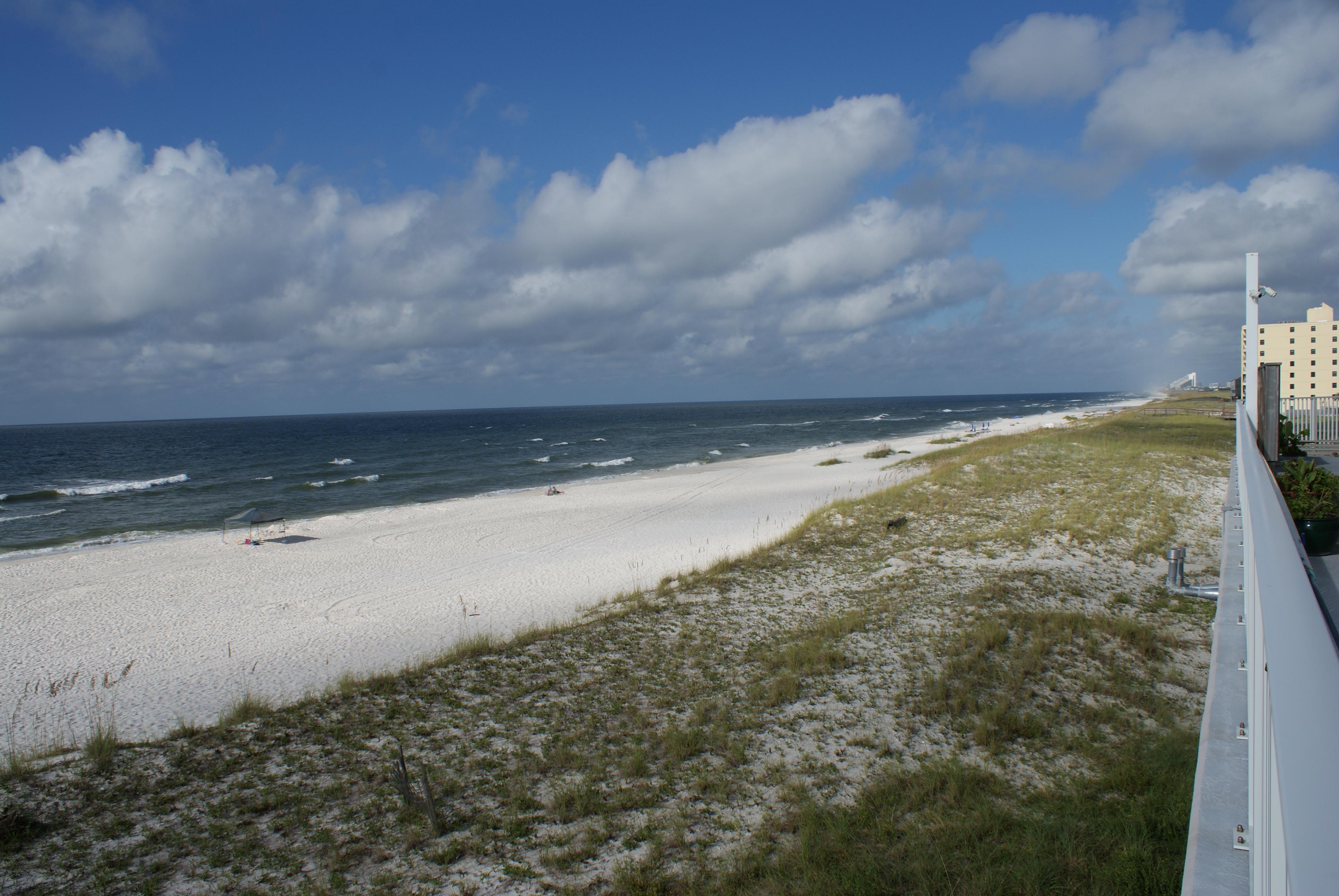 Beach looking West