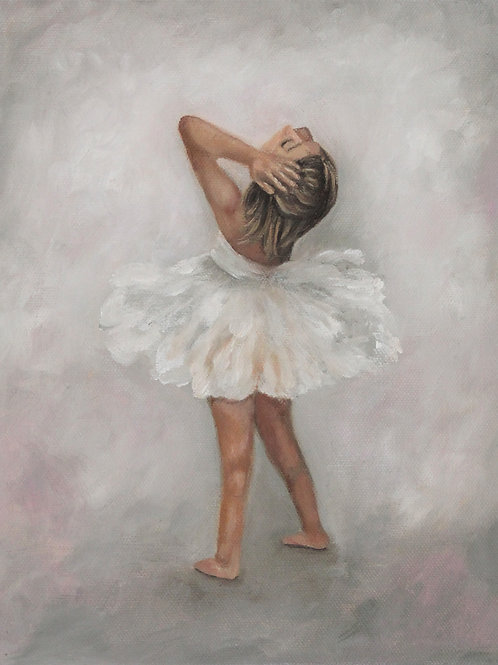 """Tiny Dancer 2""  8x10 oil painting on canvas"