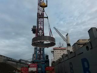 Spedizione project cargo per la Corea del Sud.