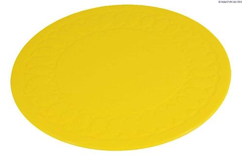 Anti Slip Coaster 19 cm Diameter - Yellow