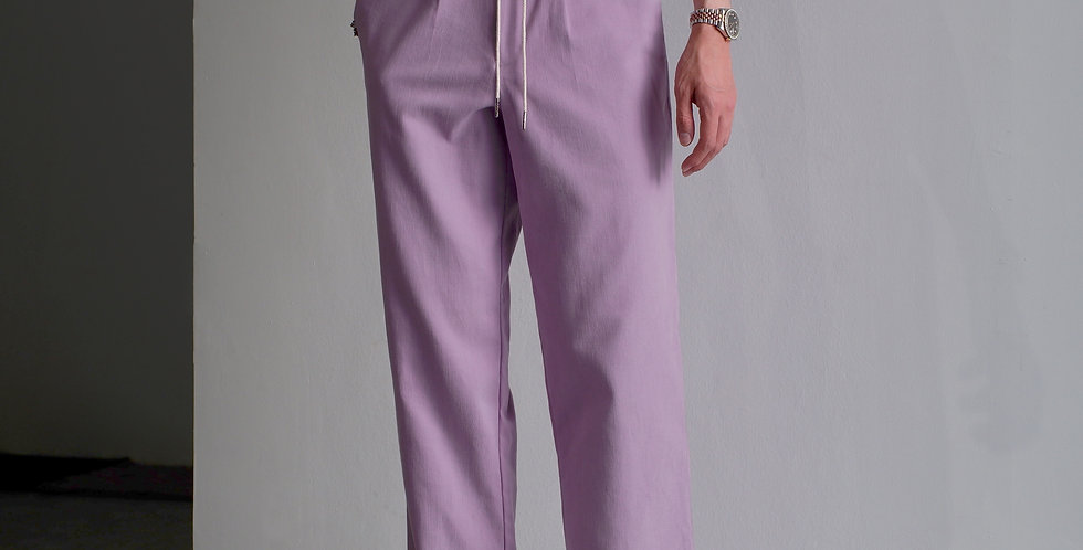 Wide Pants Purple