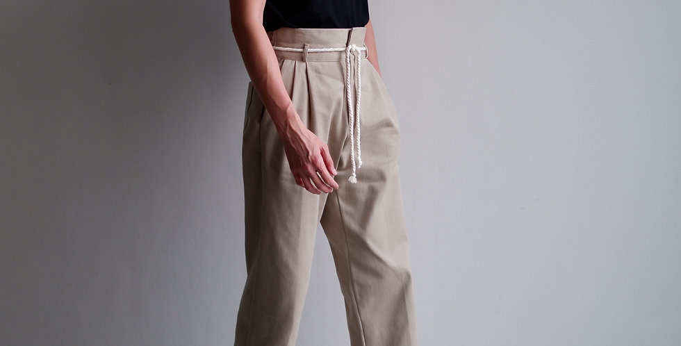 Waisted Pants (Khaki)