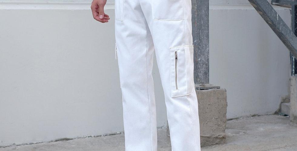 Cargo Pants (White)
