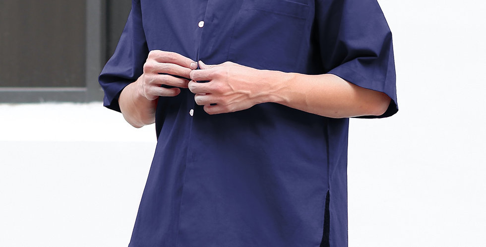 Curve Shirt Navy