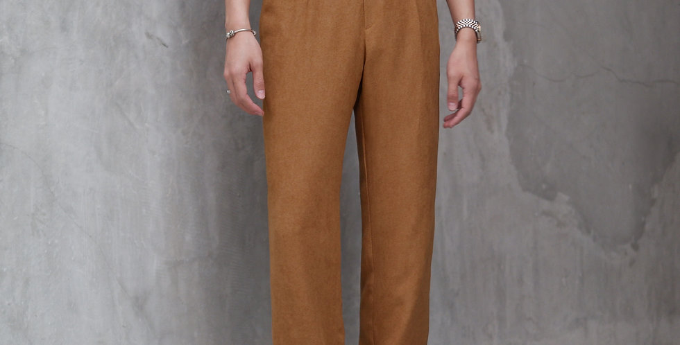 Wide Pants Caramel