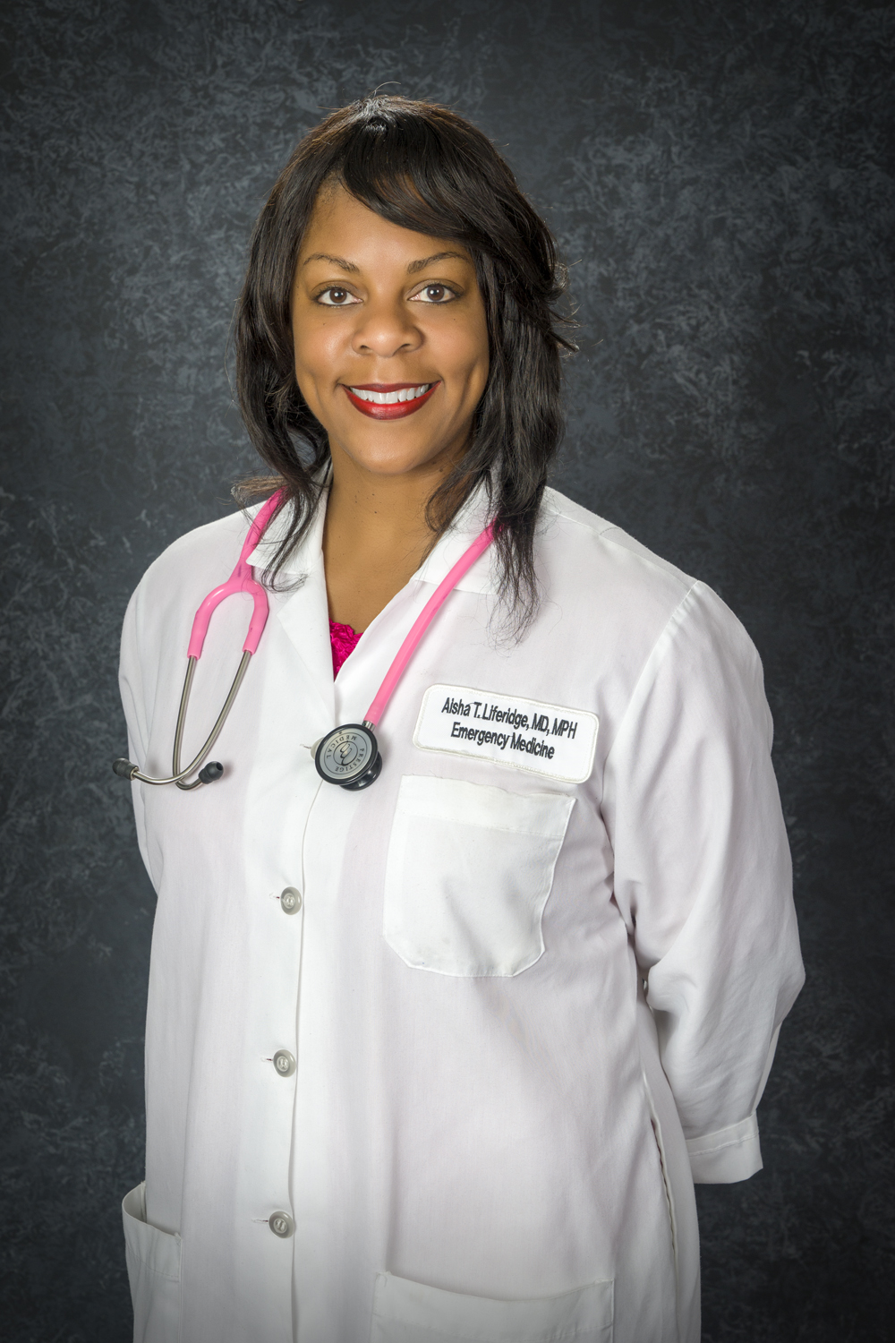 Aisha Terry -White Coat Photo