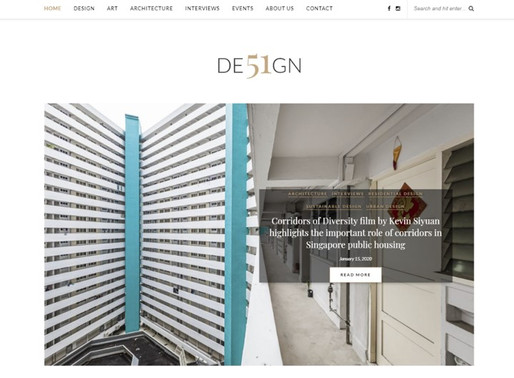Interview with DE51GN: Singapore-based architecture and design publication