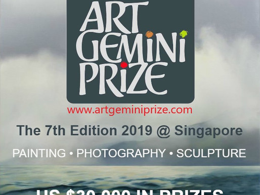 Open Call - 7th Edition ArtGeminiPrize 2019 @ Singapore