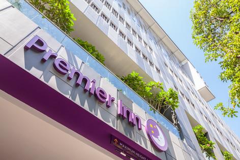 Premier Inn Singapore Beach Road Hotel Architectural Interior Photography by Siyuan Ma (Shiya Studio)