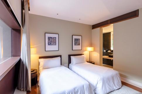 The Club Residences by Capella Singapore, luxury hotel resort interior bedroom photography, Siyuan Ma (Shiya Studio)