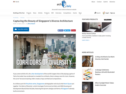 Corridors of Diversity - Short film featured on ArchDaily