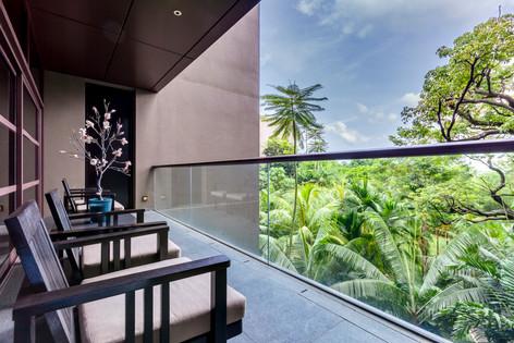 The Club Residences by Capella Singapore, luxury hotel resort interior photography, Siyuan Ma (Shiya Studio)