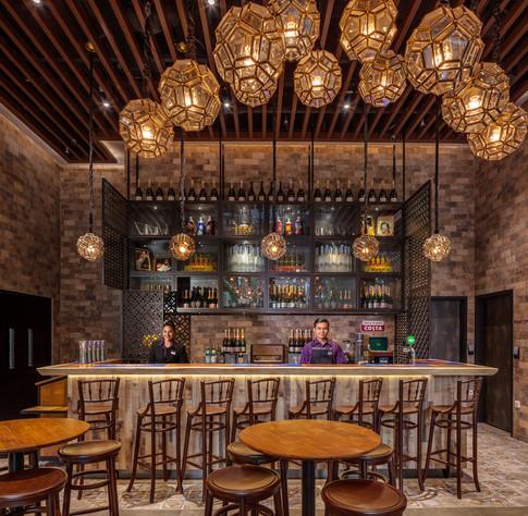 Premier Inn Singapore Beach Road Hotel Architectural Interior Photography by Siyuan Ma (Shiya Studio), lobby, restaurant, dining