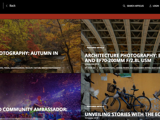 Architectural Photography Article Featured on Canon EOS World