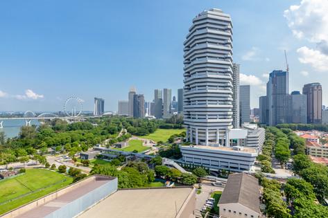 Premier Inn Singapore Beach Road Hotel Architectural Interior Photography by Siyuan Ma (Shiya Studio), rooftop