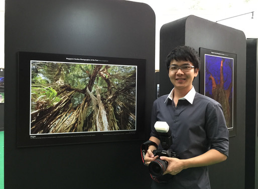 Singapore Garden Photographer of the Year Photo Exhibition