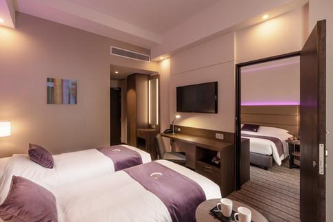 Premier Inn Singapore Beach Road Hotel Architectural Interior Photography by Siyuan Ma (Shiya Studio), room