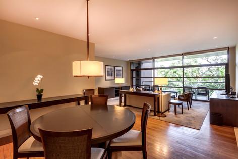 The Club Residences by Capella Singapore, luxury hotel resort interior living room photography, Siyuan Ma (Shiya Studio)