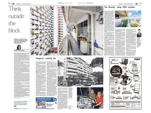 """""""Corridors of Diversity"""" Featured on The Straits Times"""