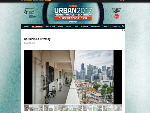"""Corridors of Diversity"" Shortlisted for URBAN 2017 Photo Awards"