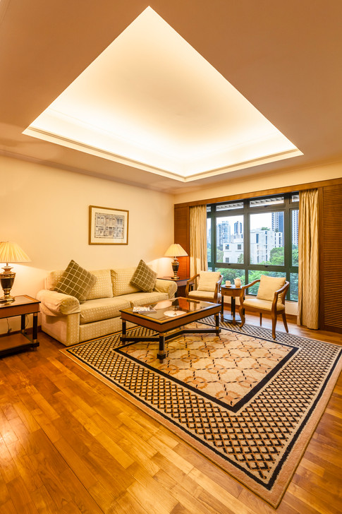 Le Grove Serviced Apartment hotel interior photography, City Development, Siyuan Ma (Shiya Studio), living room