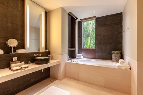 The Club Residences by Capella Singapore, luxury hotel resort interior bathroom photography, Siyuan Ma (Shiya Studio)