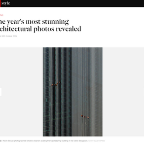 Official Shortlist Published on CNN- The Architectural Photography Awards 2021