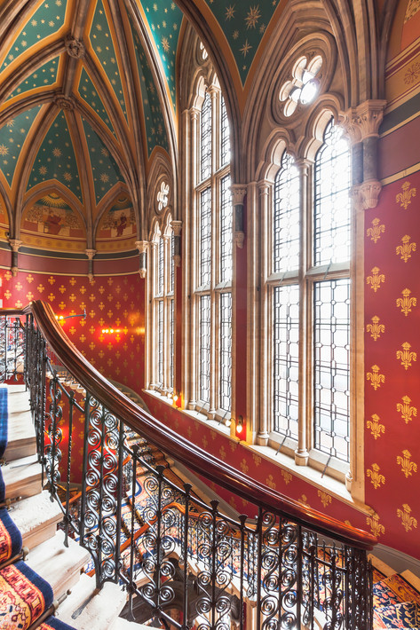 The Grand Staircase, Renaissance Hotel St Pancras London