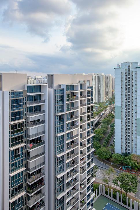 H20 Residences, City Development, Singapore condominium building exterior architectural photography by Siyuan Ma (Shiya Studio)