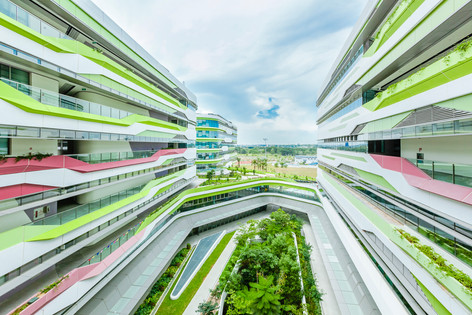 Architectural building exterior facade photography by Shiya Studio Singapore (Siyuan Ma)