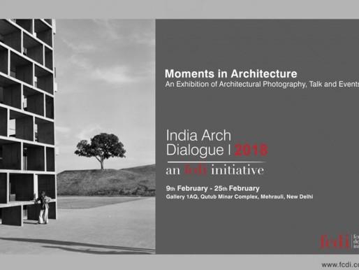 Exhibiting at India Arch Dialogue 2018