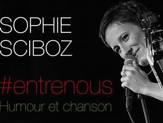 Humour et chanson : Sophie Sciboz. Samedi 18 septembre 20H30