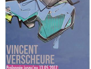 PROLONGATION de l'exposition : Vincent Verscheure