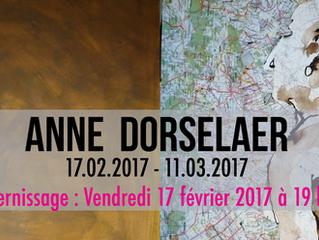 Prochaine exposition : ANNE DORSELAER