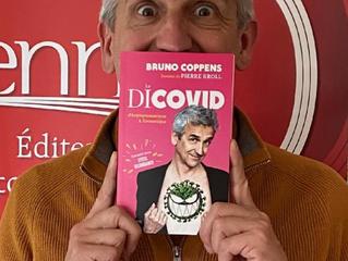 Bruno Coppens, spectacle et présentation de livre le 10/9