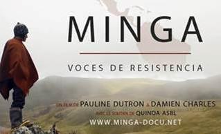 Vendredi 24 mai à 20h30 : « Minga, voix de résistance »