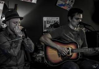 Concert avec Moonlambproject, duo de folk blues